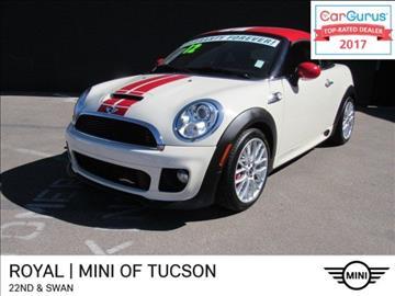 2012 MINI Cooper Coupe for sale in Tucson, AZ