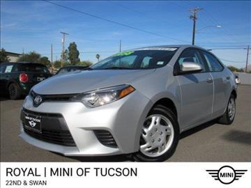 2015 Toyota Corolla For Sale Tucson, AZ - Carsforsale.com