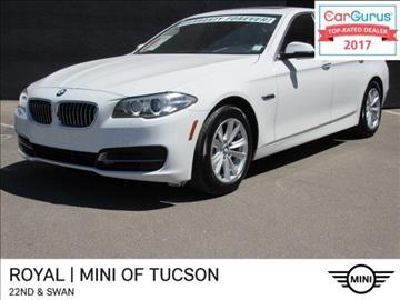 2014 BMW 5 Series for sale in Tucson, AZ