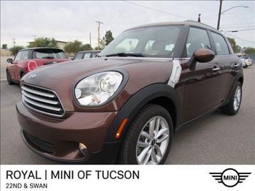 2014 MINI Countryman for sale in Tucson, AZ