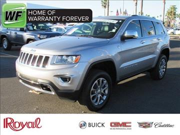 2014 Jeep Grand Cherokee for sale in Tucson AZ