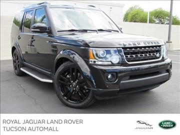 2015 Land Rover LR4 for sale in Tucson, AZ