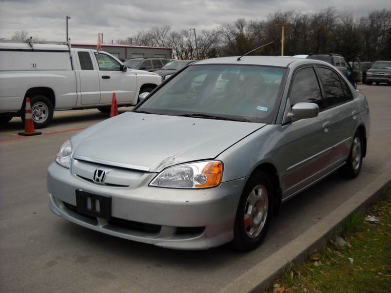 2003 honda civic hybrid 4dr sedan in grand prairie tx chase auto group. Black Bedroom Furniture Sets. Home Design Ideas
