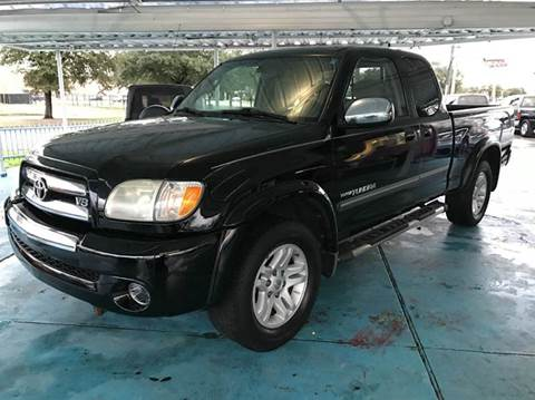 2003 Toyota Tundra for sale in Houston, TX