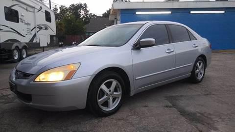 2005 Honda Accord for sale in Houston, TX