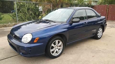 2002 Subaru Impreza for sale in Houston, TX