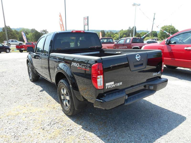 2010 nissan frontier 4x4 pro 4x 4dr king cab pickup 6m in knoxville tn willow creek auto sales. Black Bedroom Furniture Sets. Home Design Ideas