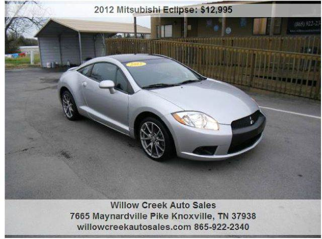 2012 mitsubishi eclipse gs sport 2dr hatchback in knoxville tn willow creek auto sales. Black Bedroom Furniture Sets. Home Design Ideas