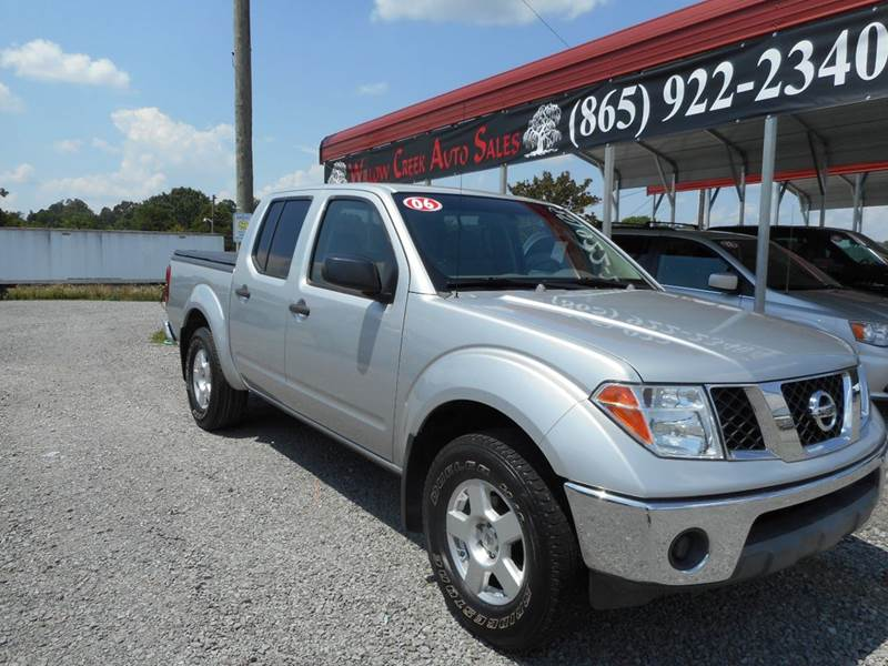 2006 Nissan Frontier Se 4dr Crew Cab 4wd Sb In Knoxville