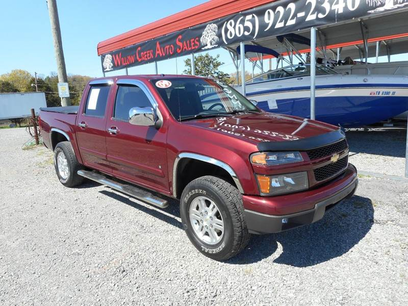 2009 chevrolet colorado lt 4x4 4dr crew cab w 1lt in knoxville tn willow creek auto sales. Black Bedroom Furniture Sets. Home Design Ideas