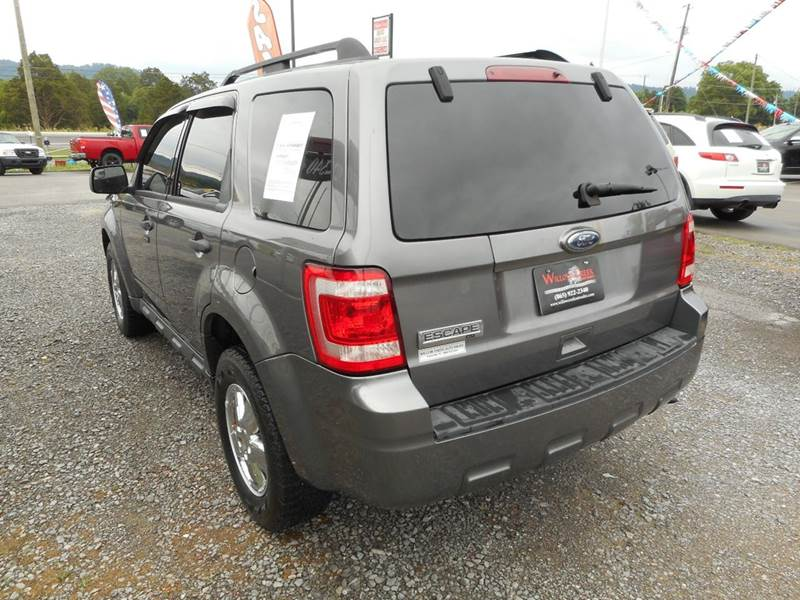 2010 Ford Escape Xlt Awd 4dr Suv In Knoxville Tn Willow