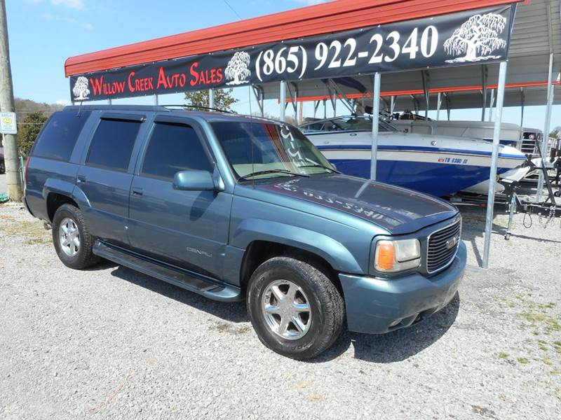 2000 Gmc Yukon 4dr Denali 4wd Suv In Knoxville Tn Willow