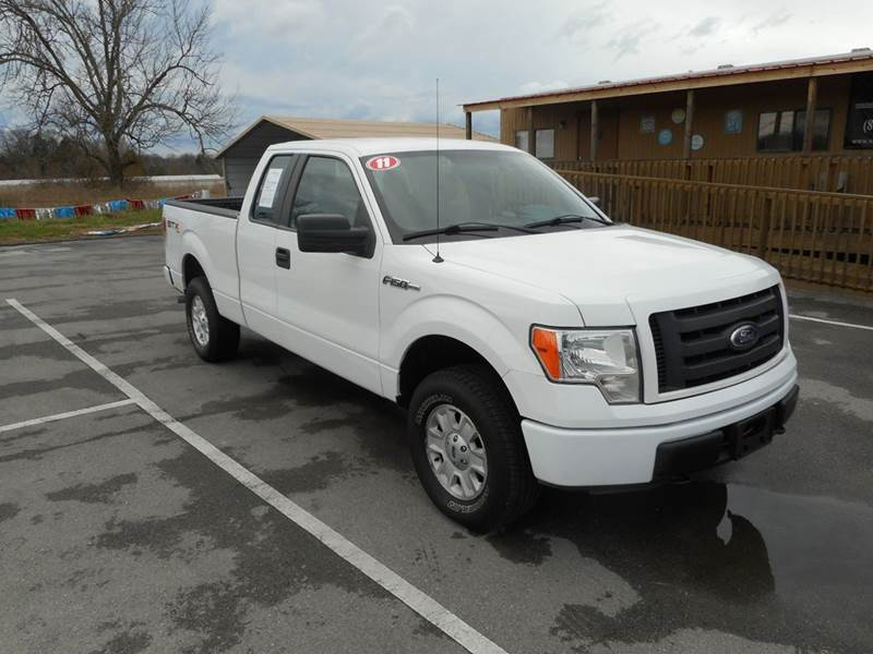 2011 ford f 150 stx 4x4 4dr supercab styleside 6 5 ft sb in knoxville tn willow creek auto sales. Black Bedroom Furniture Sets. Home Design Ideas