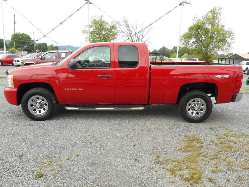 2010 chevrolet silverado 1500 work truck 4x4 4dr extended cab 6 5 ft sb in knoxville tn. Black Bedroom Furniture Sets. Home Design Ideas