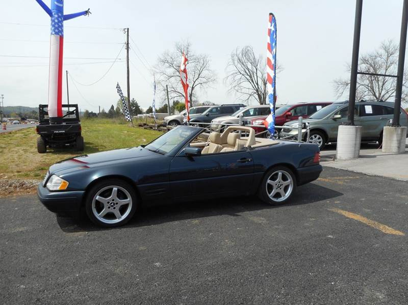1998 mercedes benz sl class roadster 5 0l convertible in for Knoxville mercedes benz