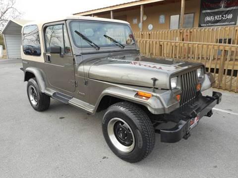 jeep wrangler for sale knoxville tn. Black Bedroom Furniture Sets. Home Design Ideas
