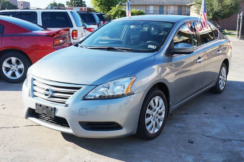2014 nissan sentra sv 4dr sedan in houston tx car citi financial. Black Bedroom Furniture Sets. Home Design Ideas