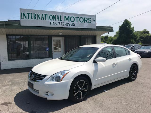 2012 Nissan Altima 25 S 4dr Sedan In Nashville Tn International