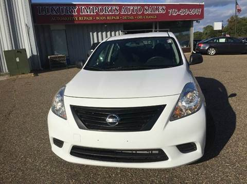 2012 Nissan Versa for sale in North Branch, MN
