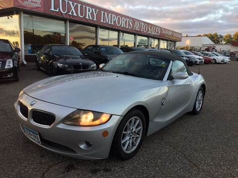 2005 BMW Z4 for sale in North Branch, MN