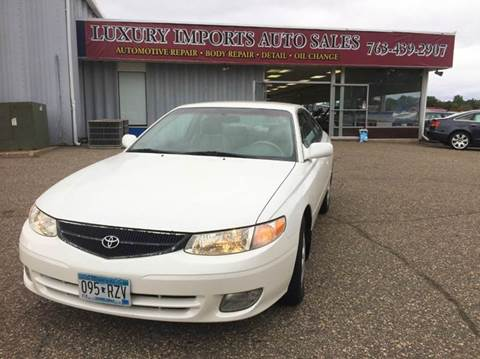 1999 Toyota Camry Solara for sale in North Branch, MN