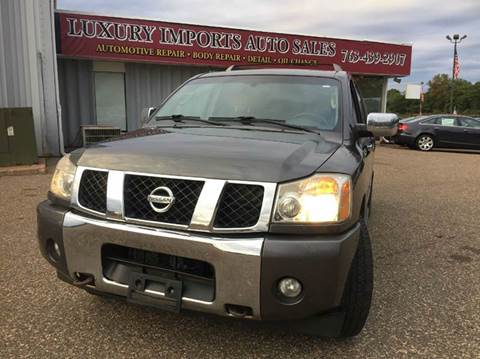 2006 Nissan Armada for sale in North Branch, MN