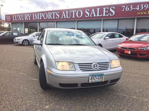2002 Volkswagen Jetta for sale in North Branch, MN