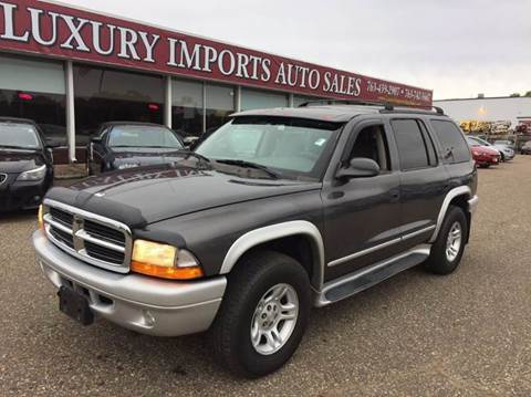 2002 Dodge Durango for sale in North Branch, MN