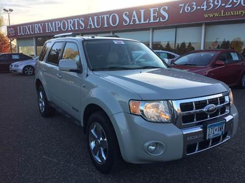 2008 Ford Escape for sale in North Branch, MN
