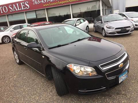 2008 Chevrolet Malibu for sale in North Branch, MN