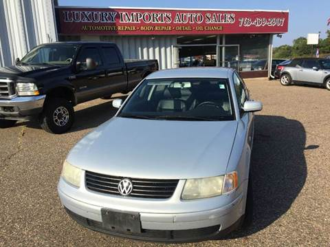 1999 Volkswagen Passat for sale in North Branch, MN