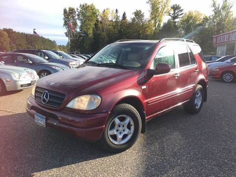2001 Mercedes-Benz M-Class for sale in North Branch, MN