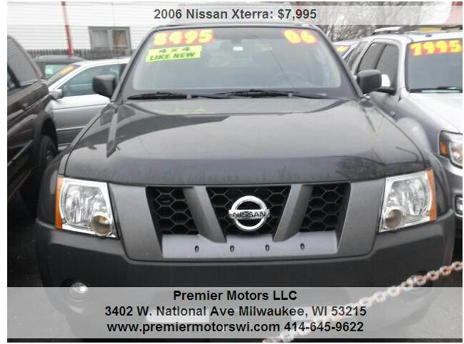 2006 Nissan Xterra Off Road 4dr Suv 4wd In Milwaukee Wi