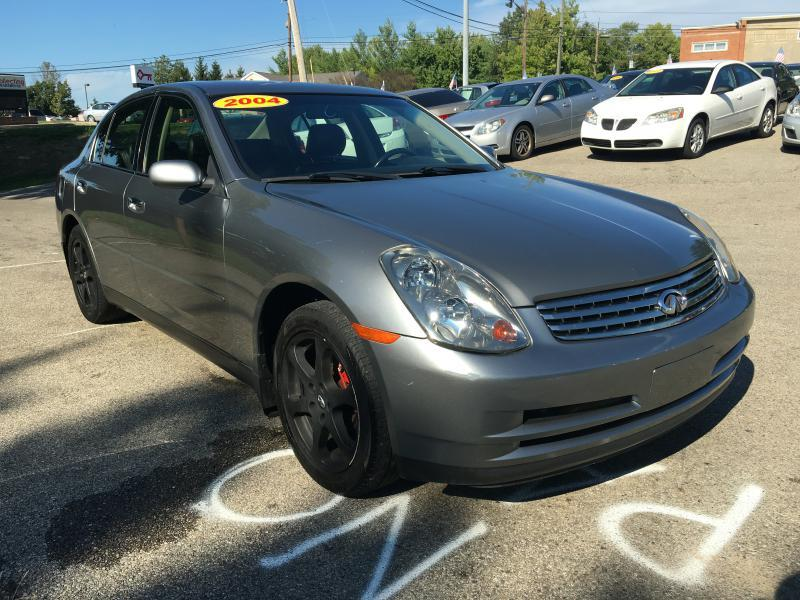 2004 infiniti g35 awd 4dr sedan w leather in fairfield oh. Black Bedroom Furniture Sets. Home Design Ideas