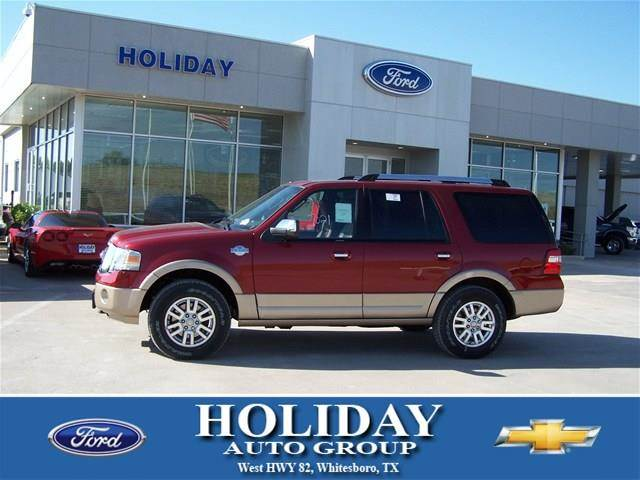 new 2014 ford expedition king ranch 4x4 4dr in whitesboro tx at holiday ford. Black Bedroom Furniture Sets. Home Design Ideas