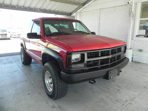 1995 Chevrolet Tahoe for sale in New Braunfels, TX