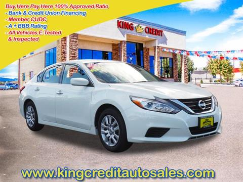 2016 Nissan Altima for sale in Thornton CO