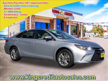2016 Toyota Camry for sale in Thornton, CO