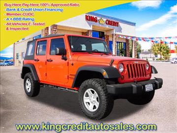 2013 Jeep Wrangler Unlimited for sale in Thornton, CO
