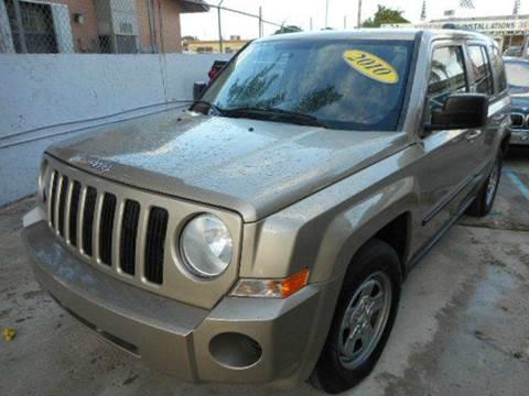 2010 Jeep Patriot for sale in Miami FL