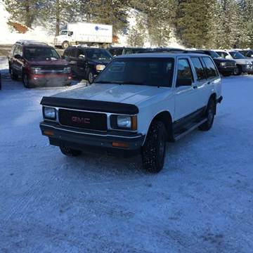 1991 GMC S-15 Jimmy for sale in Troy, ID
