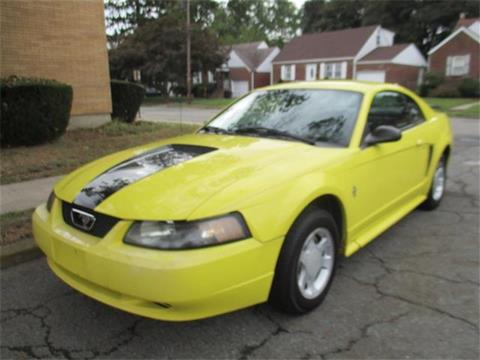 2001 Ford Mustang for sale in Paterson, NJ