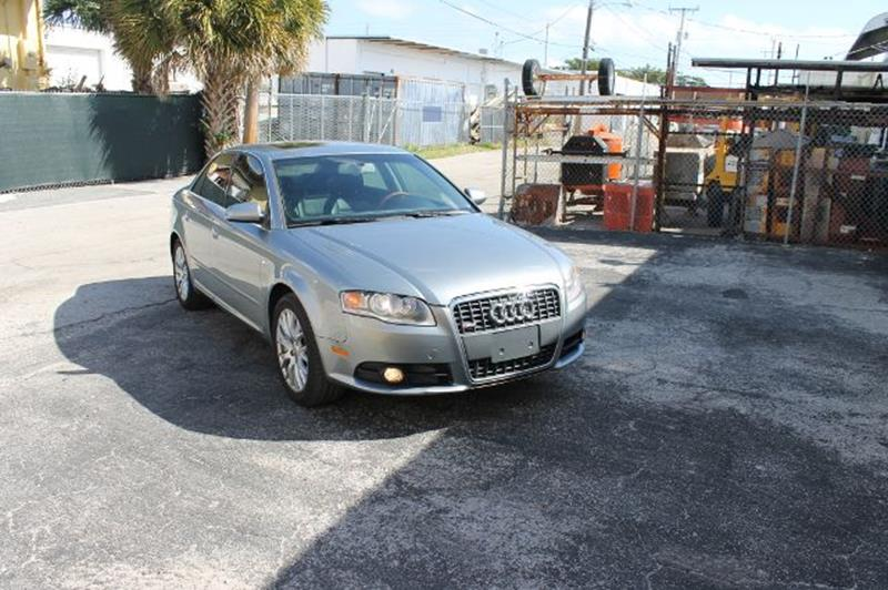 2008 Audi A4 2.0T Special Ed. 4dr Sedan (2L I4 CVT) - Fort Lauderdale FL