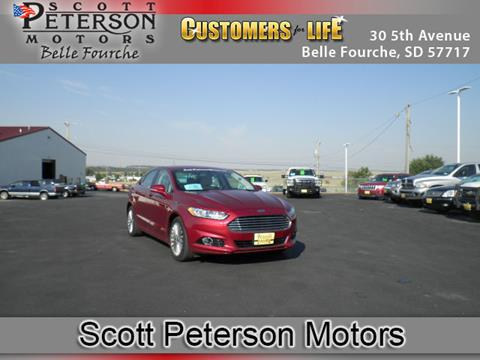 2016 Ford Fusion for sale in Belle Fourche, SD