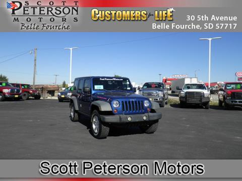 2009 Jeep Wrangler Unlimited for sale in Belle Fourche, SD