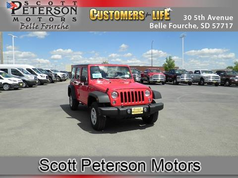 2017 Jeep Wrangler Unlimited for sale in Belle Fourche, SD