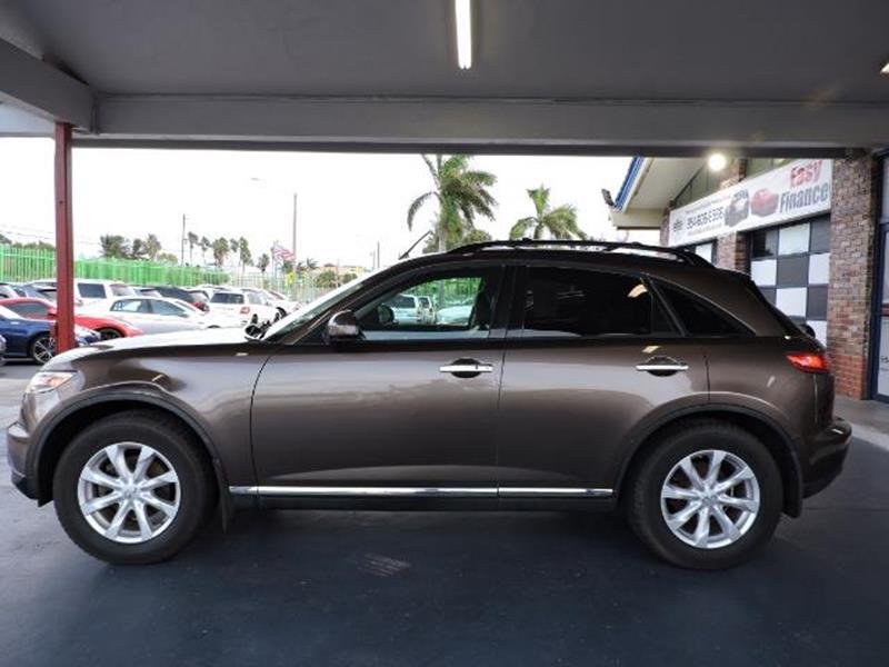 Infiniti Fx AWD Dr SUV In Fort Lauderdale FL Elite Team - Infiniti elite