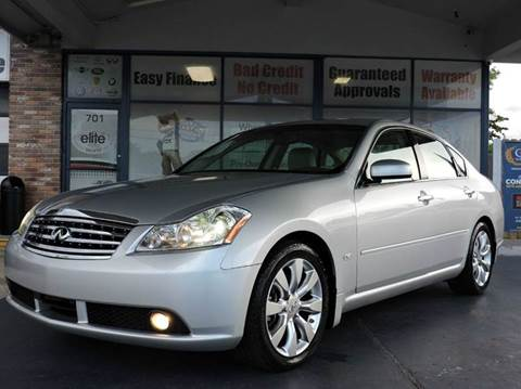 2007 Infiniti M45 for sale in Fort Lauderdale, FL