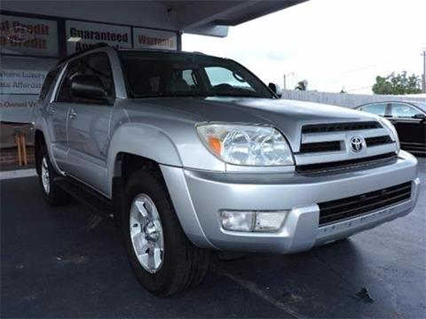 2004 Toyota 4Runner for sale in Fort Lauderdale, FL