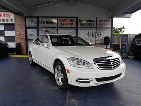 2010 Mercedes Benz S Class For Sale In Fort Lauderdale, FL
